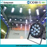 12PCS 15W RGBW Zoom LED PAR Stage Lighting Equipment