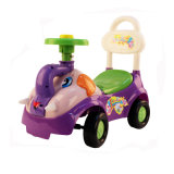 4 PP Wheels Cartoon Children Sliding Car