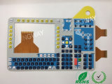 Emboss Type Button Membrane Switch with FPC Circuit