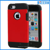 Hybrid PC+TPU Spigen Shockproof Mobile Phone Case for iPhone 5/5s