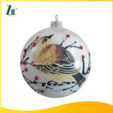2016 New Hot Sale 100 Wholesale White Glass Christmas Ball Ornaments