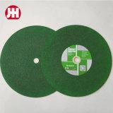Quality 350X2.5X25.4 Green Color Flat Cutting Wheel