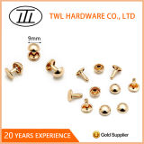 9mm Mushroom Rivet for Bags, Iron Rivet, Handbag Hardware Accessories