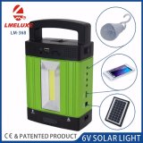 Solar Camping Light with FM Radio and USB Output Lm-3608