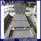 G664 France Popular Cheap Simple Granite Tombstone