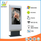 49 Inch Outdoor LCD Advertising Digital Signage Totem Touch Screen (MW-491OF)