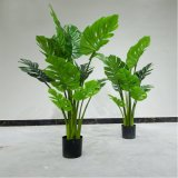 Wholesale Plastic Monstera Tree Nearly Natural Artificial Plant for Home Decor