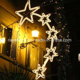 Pole Mounted LED Christmas Lights for Public Street Decoration