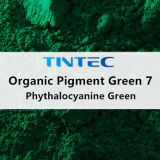Organic Green Pigment 7 for Plastic (Phythalocyanine Green)