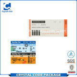 Wholesale Good Quality Printed Paper Boarding Pass