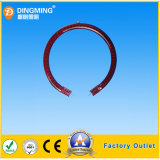 Round Ring Form Red Clear Infrared Heat Tube
