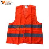 Orange Color 100% Polyester Reflective Safety Vest Safety Suit Factory Price