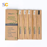 Wholesale Biodegradable Private label Natural Wooden Eco Friendly Bamboo Toothbrush