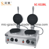 Luxury Commercial Electric 2-Plate Waffle Baker Waffle Maker