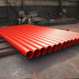 Fire Hydrant Pipe ASTM A795 Fire Fighting Sprinkler Steel Pipe Red Painting Factory Grooved Price