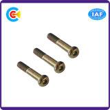 Carbon Steel/4.8/8/8.8/10.9 Galvanized/Zinc Hexagon Socket Pan Head Screws for Furniture