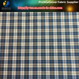 Cation Taffeta with Ripstop, Two-Tone Plaid Fabric