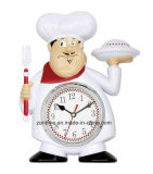 Hot Selling Funny Cook Fashionable Wholesale Wall Clock
