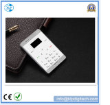 M3 Ultra Thin Card Mobile Phone Pocket Mini Phone Bluetooth Phone