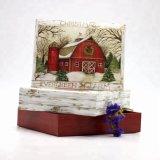 China Custom Handmade Paper Christmas Greeting Card Printing with Color Box