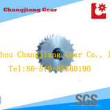 OEM Triplex Zinc Plating Stock Sprocket for Agriculture and Industry Machine