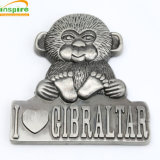 Customized Embossed Metal Fridge Magnet for Souvenir and Promotional