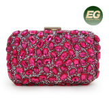 New Deisgn Women Clutch Evening Bag Luxury Handbag Beaded Rhinestone Party Purses Eb874