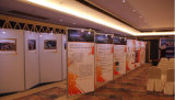 Exhibition Wall Panel Display with Upright Extrusion and Beam Extrusion