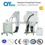 Portable Liquid Nitrogen Cryogenic Container with ISO and Ce Certification