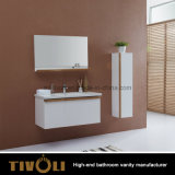 Modern Design Wholesale White Painting Bathroom Cabinet (V001)
