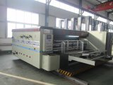4 Clour Flexo Printing Slotting&Rotary Die Cutting Machine