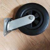 Heavy Duty Rubber PU Foam Solid Wheel Swival Caster