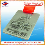 Square Finisher Commemorative Plaque Medal for Best Price
