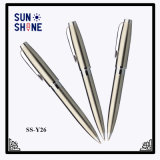 Heavy Stainess Steel Ball Point Pen High End Metal Pen for Business Gift