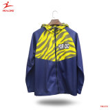 Healong Top Sale Gym Wear Fashion Outdoor Plain Tracksuit Jacket