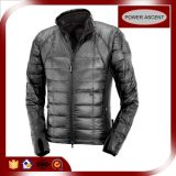 2015 Mens Silver High-End Down Jacket with Waterproof Cuff