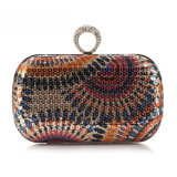 Newest Designer Wholesale Party Bag Fashion Sequin Ring Clutch Bag