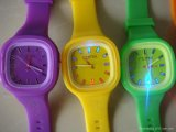 Hotsale Colorful Silicone Jelly Watch with Competitive Price