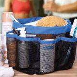 Hot Sell Product Eight Grid Portable Hollow Wash Basket Bathroom / Beach Bath Storage Basket 8 Pocket Shower Caddy