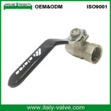 Hot Selling Good Price Quality PTFE Seal DN25 Female Full Bore Forged Cw617n Brass Ball Valve