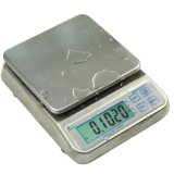 Water Proof Stainless Steel Large LCD with Backlight Weighing Scale