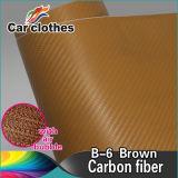 1.52X30m Manufacturers 3D Matte Carbon Fiber Wrap Film with Removable Glue