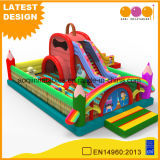 Schoolbag Fun City Inflatable Slide Amusement Park (AQ01798)