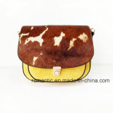 Fashion Designer Lady Suede and Fur Leather Cross Handbags (NMDK-061004)
