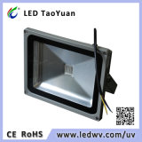 365-405nm UV LED Flood Light 30-50W LED UV Lamp