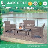 Rattan Sofa Set with Cushion Garden Furniture (Magic style)