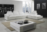 China Wholesale Living Room Furniture Modern Leather Sofa