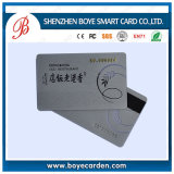 Popular Silver Base PVC 2750OE/300OE Magnetic Stripe Card