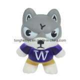 Slow Rising Stress Relief Toys Decompression Vent Soft Squishy Foam Wolf Shape PU Squeeze Toy