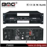 Bmg Pm Series 1200W 2 Channels Professional Amplifier, Audio Amplifier and Power Amplifier for Subwoofer